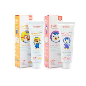 韩国 啵乐乐进口儿童低氟牙膏 90g
