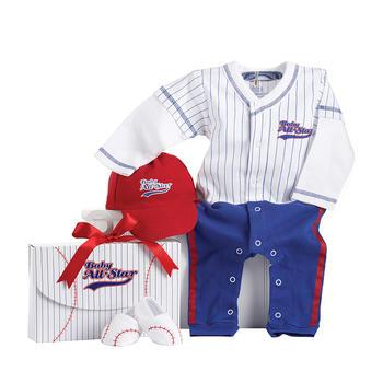 BabyAspen 婴儿纯棉连体衣套装