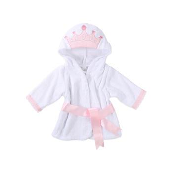BabyAspen 小公主连帽浴衣 0-9个月