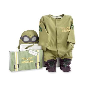 美国 BabyAspen 空军主题婴儿外出服