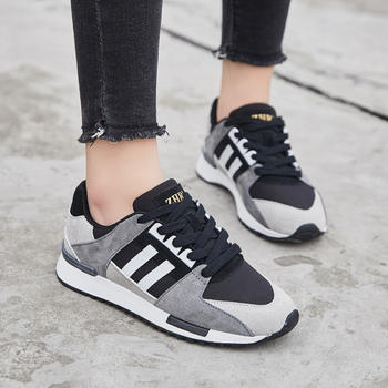 ZHR-拼接透气休闲运动鞋跑步鞋女