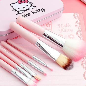 卡通Hello Kitty化妆刷7件套全套工具