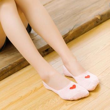 派来丝  防滑隐形女袜 5双礼盒装