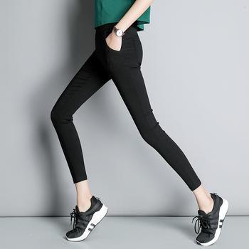 可奈丽莎小脚外穿打底裤女铅笔裤