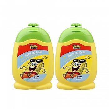 美国?海绵宝宝 (SpongeBob)海洋水润沐浴露200g*2个