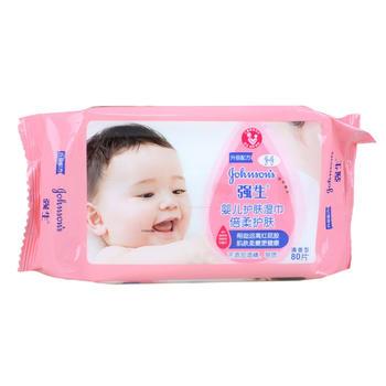 强生婴儿倍柔护肤湿巾