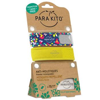 帕洛/parakito 驱蚊手环 纸屑+黄色