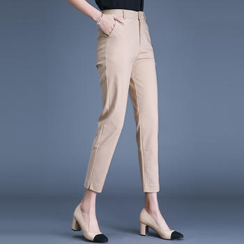 新款裤女九分裤女装女裤DC2239