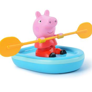 小猪佩奇划船皮划艇宝宝儿童玩具
