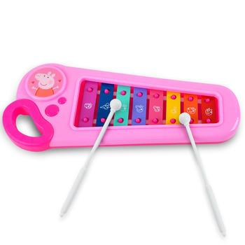 小猪佩奇婴幼儿童手敲琴八音玩具