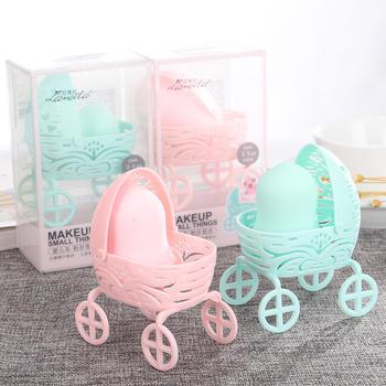 态美 泡水大婴儿车架葫芦粉扑盒装上妆粉扑化妆棉