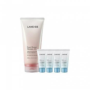 韩国•兰芝(LANEIGE)滋润保湿洁颜膏 5件套组