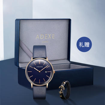 ADEXE THE MEEK系?#26032;?#39532;刻度石英手表 40MM