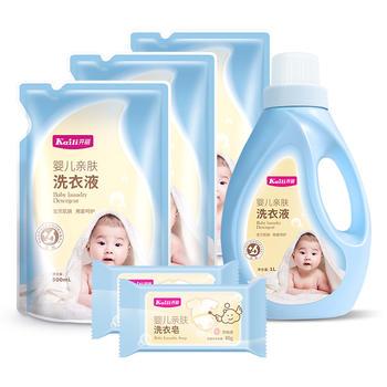 开丽 婴儿洗衣液套装6件