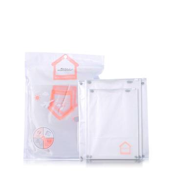 拉美拉 10个装多功能旅行收纳袋便携密封EVA衣物收纳袋