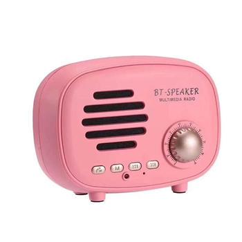 Q108多功能复古收音机蓝牙音箱