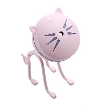 牙小白 創意新款萌寵貓咪加濕器可愛桌面擺件