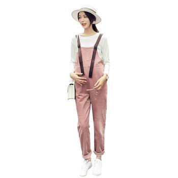 欧丽妈咪型感时尚休闲孕妇背带裤