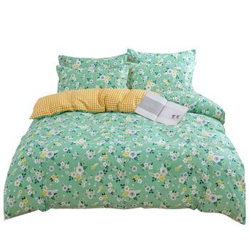 荻嘉茂 全棉斜纹床单被套四件套 繁花如梦 多花型