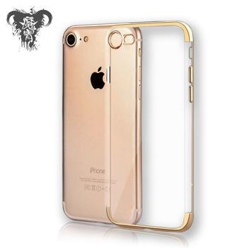 魔胄 苹果iPhone6/7/8透明电镀手机壳