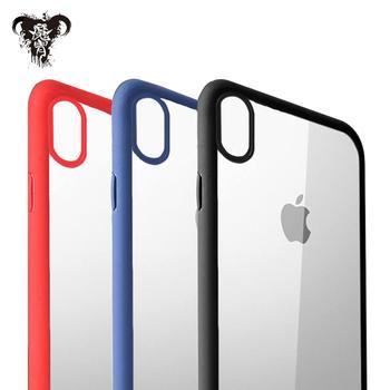 魔胄 苹果iPhoneX 透明背板手机壳