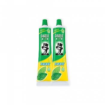黑人牙膏双重薄荷225g*2