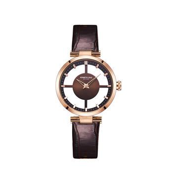 【林心如同款】Kenneth Cole经典透视腕表 白领时尚手表