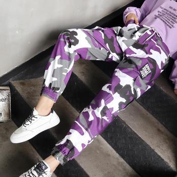 天使格格嘻哈街舞新款迷彩哈伦裤