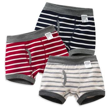 猪猪的故事 3条装男童内裤平角裤