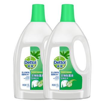 Dettol  清洁 抑 菌滴露衣物除 菌液松木1.5L*2