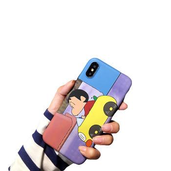 极步苹果iphone手机壳蜡笔小新磨砂