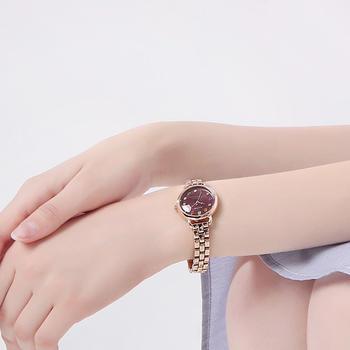聚利时学生韩版简约复古幻彩手表