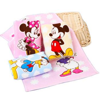 迪士尼纯棉毛巾幼儿专用毛巾