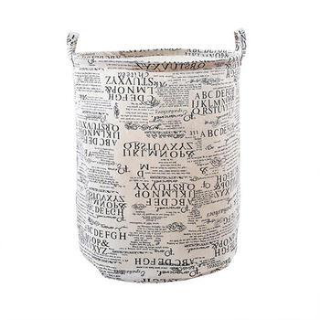 牙小白大容量防水收纳桶脏衣篓