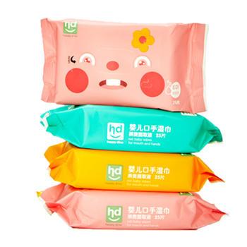 HD小龙哈彼湿纸巾婴儿随身装