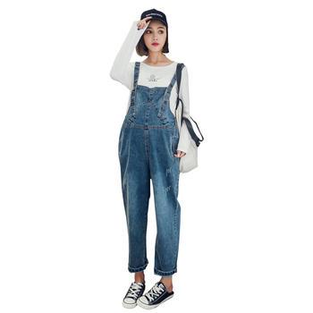 欧丽妈咪孕妈背带裤托腹裤孕妇裤