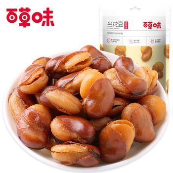 百草味 香辣味兰花豆100g*2袋 蚕豆