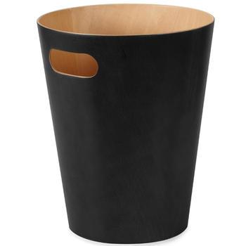 加拿大umbra 木纹垃圾桶
