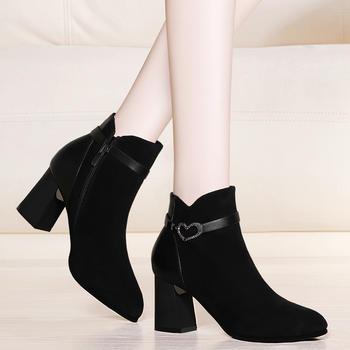 新款短靴女秋冬新款英伦马丁靴