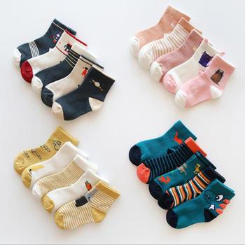 啵啵純兒童純棉厚款襪子5雙裝