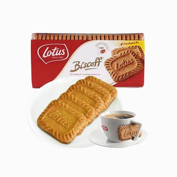 和情 比利时进口焦糖饼干 350g/包