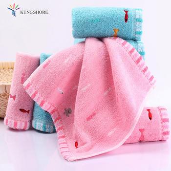 金号纯棉A类儿童方巾口水巾4条