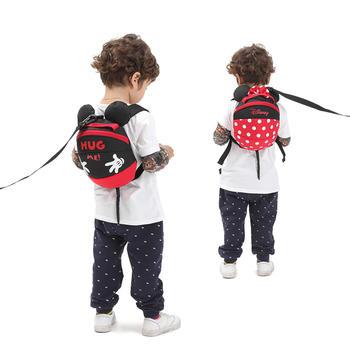 迪士尼防走失背包牵引绳宝宝背包