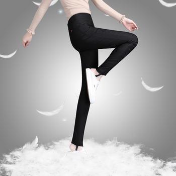 冬季羽绒裤外穿女士显瘦高腰加厚