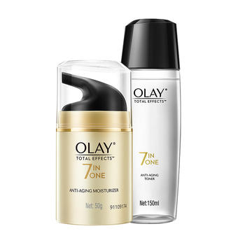 玉兰油Olay多效修护超值霜水两件套