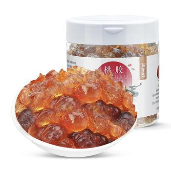 【买1送1】贵州桃胶250g 配雪燕皂角米 补充胶质蛋白