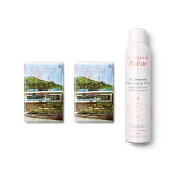 雅漾 (Avene)舒护调理喷雾300ml+天然湿敷面膜3片*2包