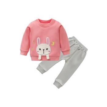 Cipango 新款宝宝外出小兔两件套装