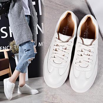 奥古女鞋夏季超纤短靴低帮小白鞋板鞋潮流百搭鞋