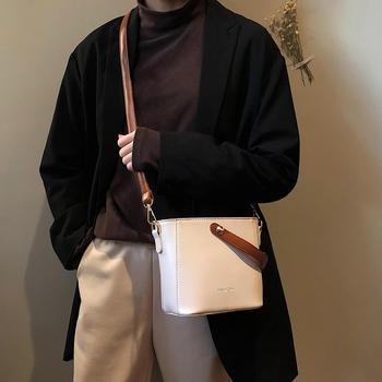 宾尼兔时尚简约单肩包斜挎小包包